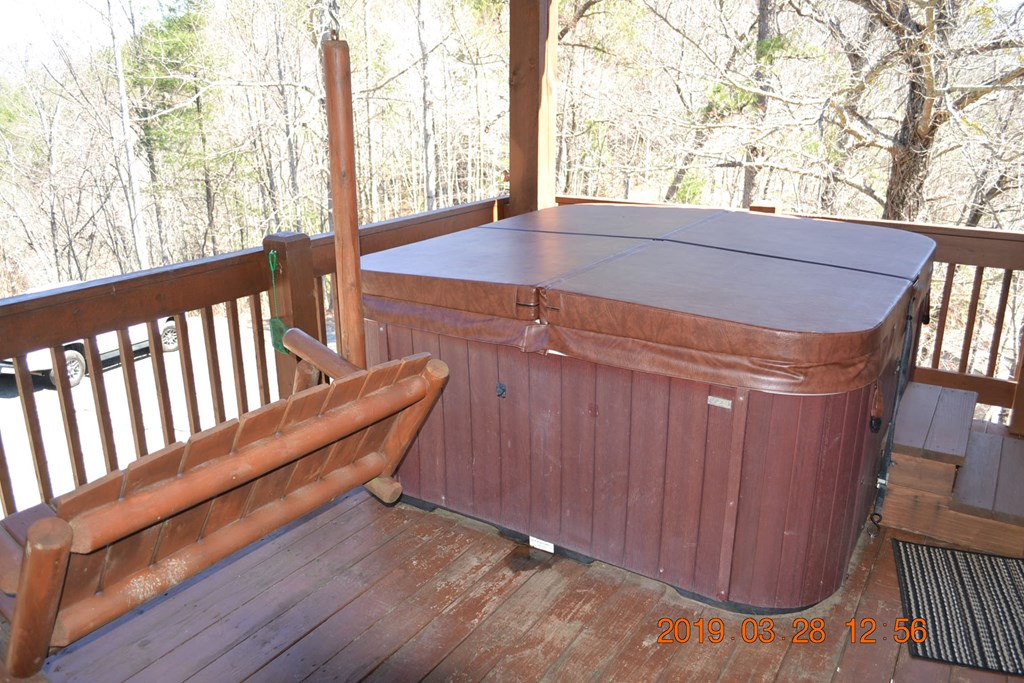 Hot Tub Time Machine and Porch Swing