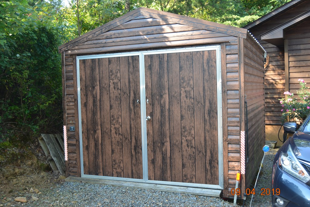 storage shed large enough for your ATV